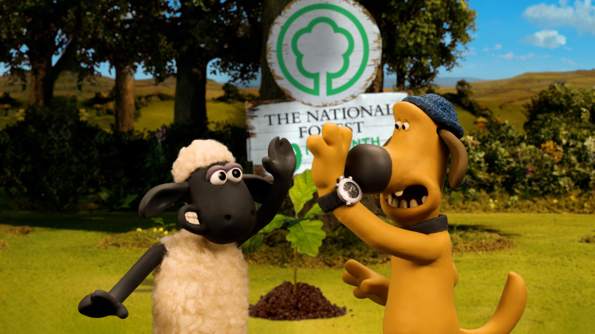 Shaun The Sheep and Bitzer