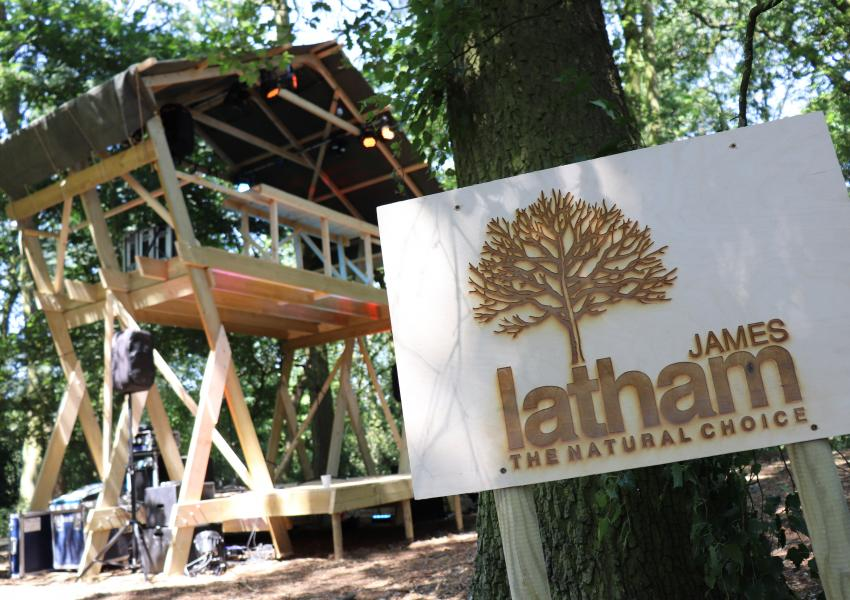 Image of James Latham sign