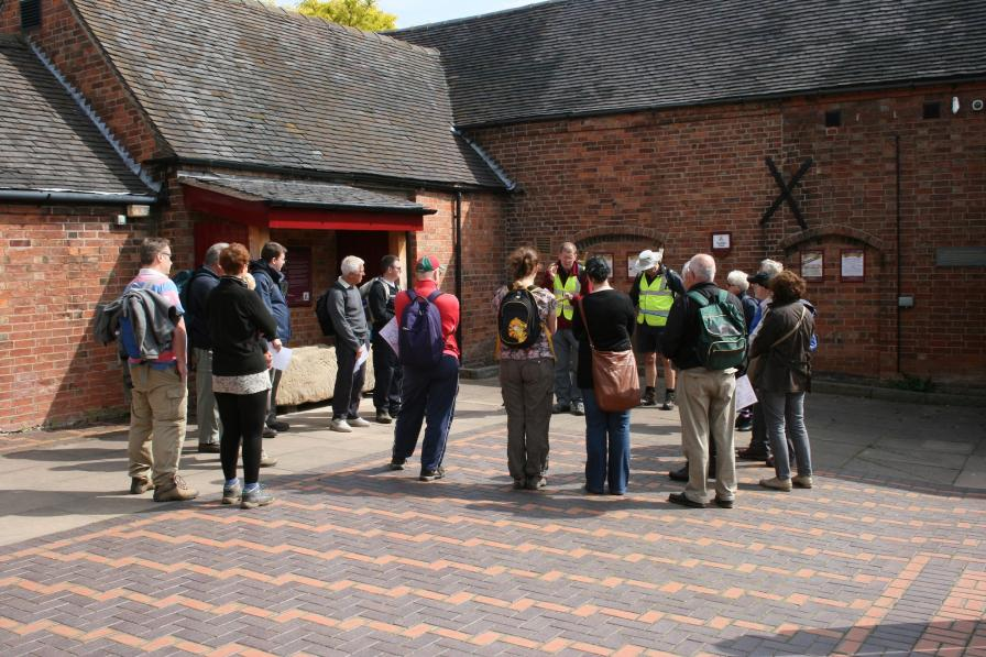 Guided walk at Bosworth Battlefield Heritage Centre